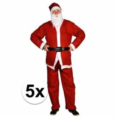 5x goedkoop santa run kerstmanoutfit