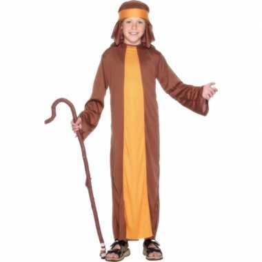 Bruin herders outfit voor kids