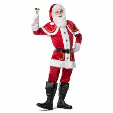 Complete kerstmannen outfit