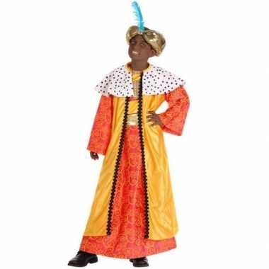 De drie wijzen geel outfit voor kinderen