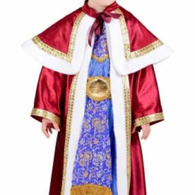 De drie wijzen rood outfit voor kinderen