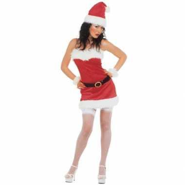 Flanellen kerst outfit voor dames