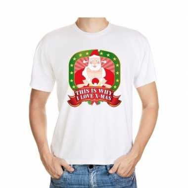 Foute kerst shirt this is why i love x mas heren
