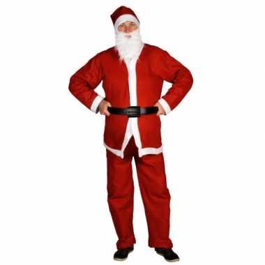 Goedkoop kerstmannen outfit