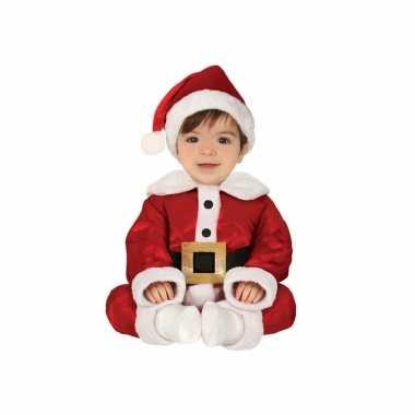 Kerstman baby verkleed outfit 3 delig