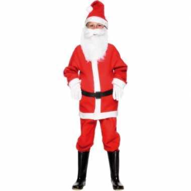 Kerstmannenoutfit voor kinderen