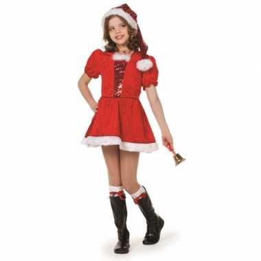 Luxe kerst jurkje voor meiden