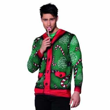 Verkleed t shirt kerst heren