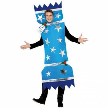 Vuurwerk rotje outfit blauw