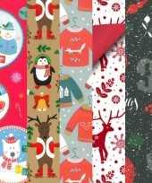 15x kerstmis kadopapier rollen 2 5 x 0 7 meter voor kinderen
