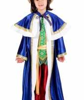 De drie wijzen blauw outfit voor kinderen