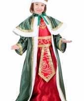 De drie wijzen groen outfit voor kinderen
